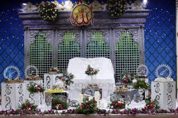راهاندازی اتاق عقد در حسینیه اعظم زنجان